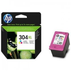 HP 304XL TRICOLOR CARTUCHO DE TINTA ORIGINAL N9K07AE