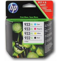 HP 932XL + 933XL MULTIPACK ORIGINAL 4 CARTUCHOS C2P42AE